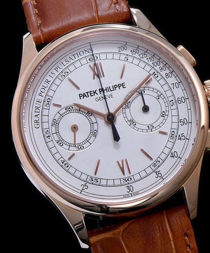 Patek Philippe Rose gold Men s Watch White