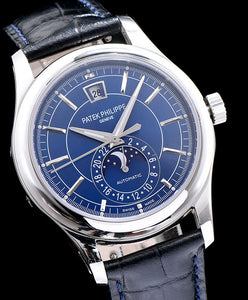 Patek Philippe Gold Men s Watch Blue
