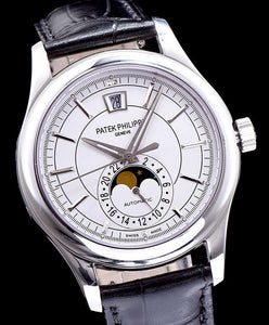 Patek Philippe Sliver Men s Watch White