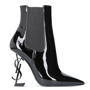 Saint Laurent Black Opyum Ankle Boot 2 colors