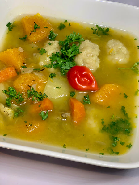 Bajan Chicken Soup