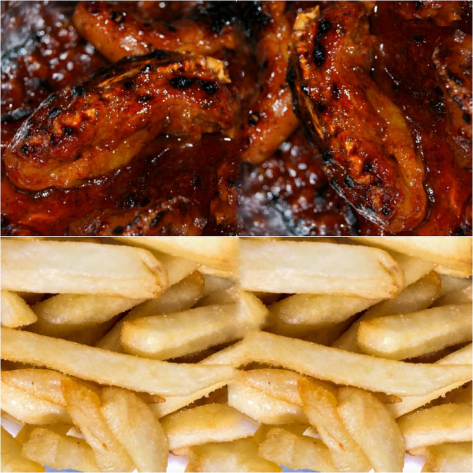 (2) BBQ Pig tails & French Fries (Fridays & Saturdays only)