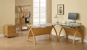 Jual Helsinki Oak Office Furniture Collection