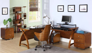 Jual Helsinki Walnut Office Furniture