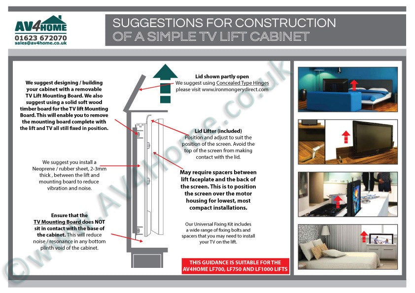Suggestions-for-Construction-of-a-Simple-TV-Lift-Cabinet
