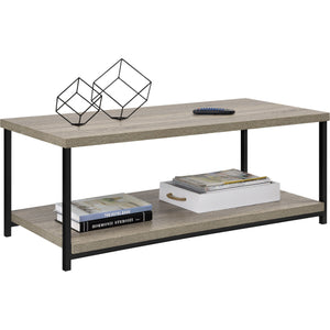Dorel Home Elmwood Range Coffee Table in Distressed Grey Oak
