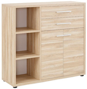 Maja Set+ Cupboard Combi in Natural Oak  (1682-5524)