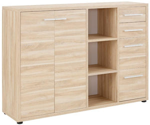 Maja Set+ Maxi Cupboard Combi in Natural Oak (1684-5524)