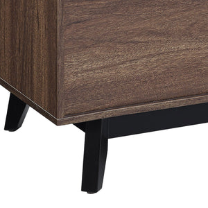 Dorel Home Vaughn Range Coffee Table in Walnut