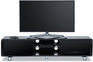 MDA Designs Capri 1500 Gloss Black TV Stand