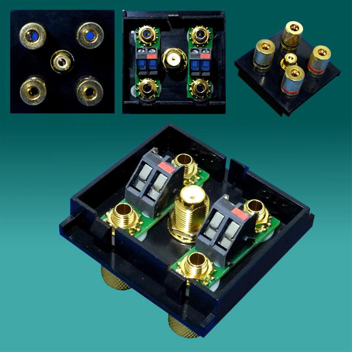 EP-SS21-BK Black Surround Sound 2.1 speaker module