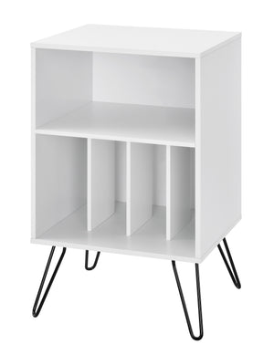 Dorel Home Concord Range Turntable Stand in White