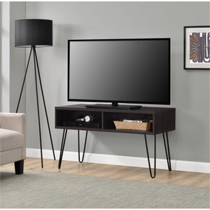 Dorel Home Owen Range Retro TV Stand in Espresso