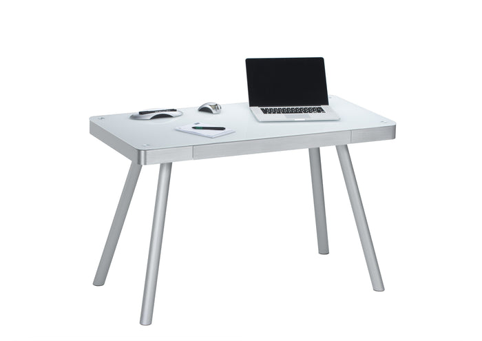 Maja Executive Aluminium and Glass Office Desk (5000 9446)