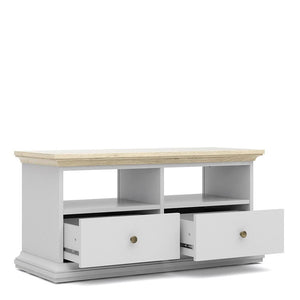 Furniture To Go Paris TV Stand in Oak and White (7017781249AK)