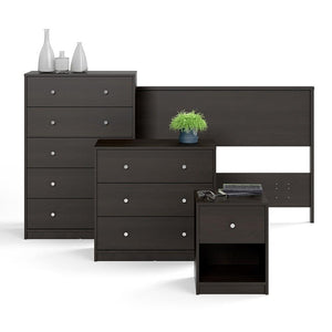 Furniture To Go May 5-Drawer Chest in Dark Walnut (708703292020)