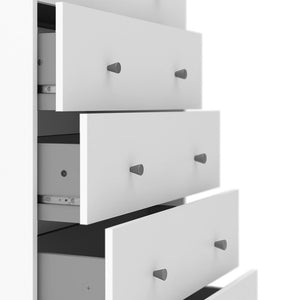 Furniture To Go May 5-Drawer Chest in White (708703294949)