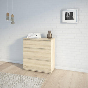 Furniture To Go Nova 3 Drawer Chest in Oak (70971094AK)