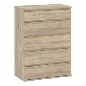 Furniture To Go Nova 5 Drawer Chest in Oak (70971200AK)