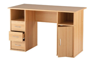 Alphason Maryland Beech Computer Desk