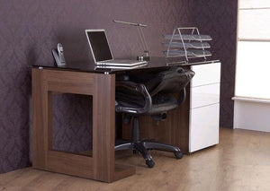Alphason Sorbonne Executive Computer Desk (ADSOR150-W)