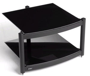 Atacama Equinox Hi-Fi RS 2-BB - 2 Shelf Hi-Fi Stand in Black