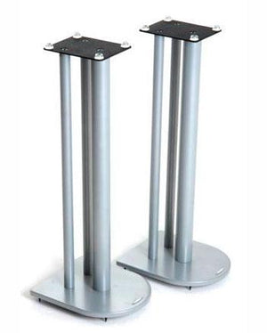 Atacama Nexus 7i Silver Speaker Stands 700mm High