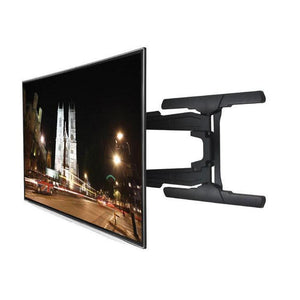 B-Tech BT8221 - Ultra Slim Double Arm TV Wall Mount, Tilt and Swivel