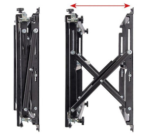 B-Tech BT8310XL Heavy Duty Recessed Pop Out TV Bracket for TVs up to 120 inch