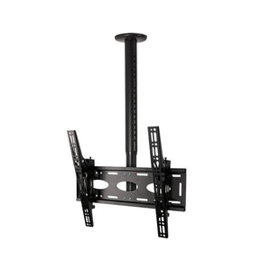 B-Tech BT8426 Black Telescopic TV Ceiling Mount