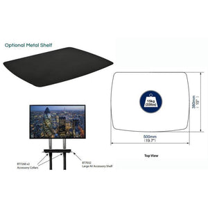 AV4-BT8504 - Flat Panel Display LED / LCD TV Plasma Mobile Trolley Stand