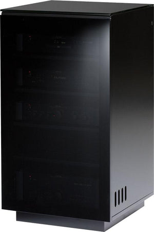 BDI Mirage 8222 Black AV Tower