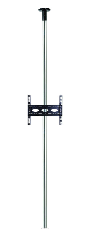 B-Tech BT3MFCLF40-65/C Floor to Ceiling TV Bracket with 3m Chrome Pole