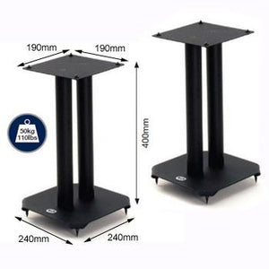 BT604 B-Tech Atlas Home Cinema Speaker Stands in Black