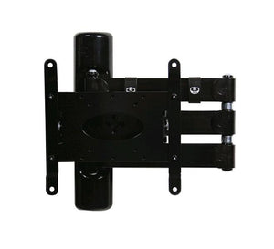 B-Tech BT7515 - Black TV wall bracket double arm for TVs up to 42inch
