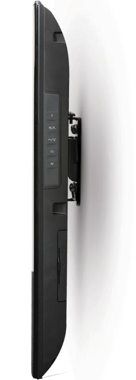 B-Tech BT7532 - Black Ultraslim Flat Screen TV Wall Bracket