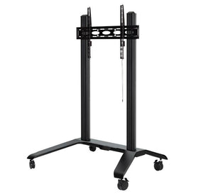 B-Tech BT8564 - Mobile TV Trolley Stand For Screens Up To 120 Inch