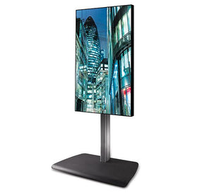 B-Tech BTF843 Portrait Digital Signage TV Stand for Screens up to 85 inches