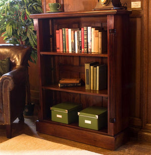 Baumhaus La Roque Mahogany Low Open Bookcase (IMR01B)