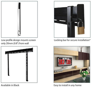 B-Tech Ventry BTV520 Flat TV Wall Mount for TVs up to 65 inch