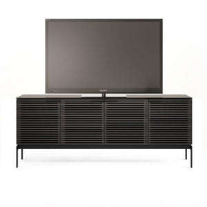 BDI Corridor SV7129 Slimline Charcoal Stained Ash TV Cabinet