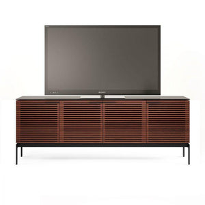 BDI Corridor SV7129 Slimline Chocolate Walnut TV Cabinet