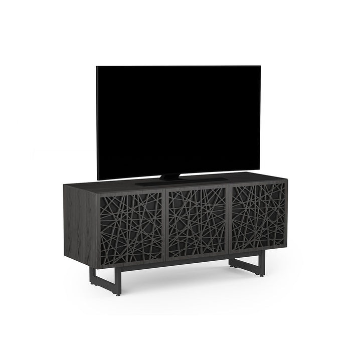 BDI Elements 8777 Ricochet Charcoal Stained Ash Media Cabinet