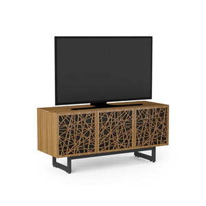 BDI Elements 8777 Ricochet Natural Walnut Media Cabinet