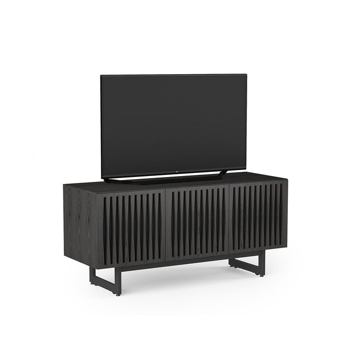 BDI Elements 8777 Tempo Charcoal Stained Ash Media Cabinet
