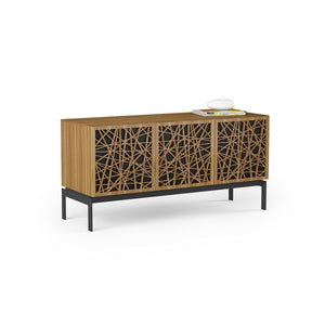 BDI Elements 8777 Ricochet Natural Walnut Console Unit