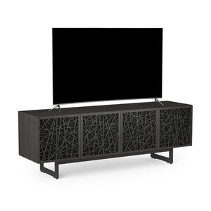BDI Elements 8779 Ricochet Charcoal Stained Ash Media Cabinet