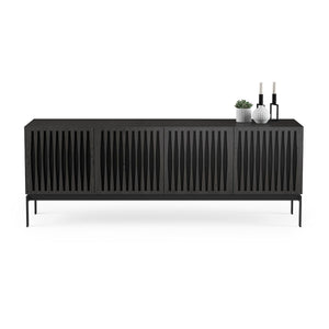 BDI Elements 8779 Tempo Charcoal Stained Ash Console Unit