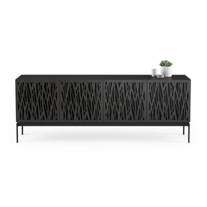 BDI Elements 8779 Wheat Charcoal Stained Ash Console Unit