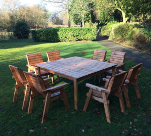Charles Taylor Eight Seater Deluxe Table and Chair Set (HB82)